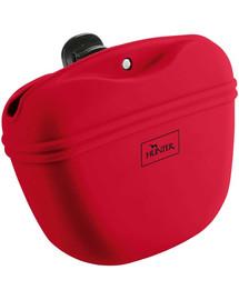 HUNTER Lugo M Silikonowa torba na przysmaki czerwony