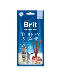 BRIT Premium by Nature Cat Sticks with Turkey & Lamb