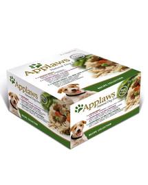 APPLAWS Hundefutter Nassfutter Dose Recipe 8 x 156 g