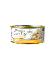 APPLAWS Grainfree in Broth Hühnchenbrust 70g
