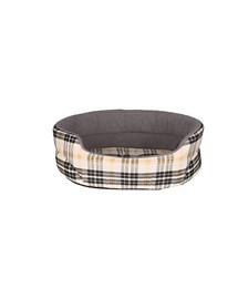 TRIXIE Bett Lucky für Hund 85×75 cm beige/grau