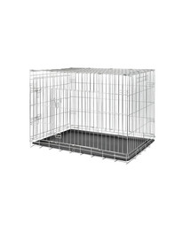 TRIXIE Transportkäfig für Hund 64×54×48 cm