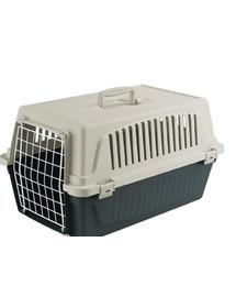 FERPLAST ATLAS EL Transportbox für Katzen und kleine Hunde 32.5 x 48 x 29