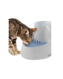 FERPLAST Trinkbrunnen für Katzen und kleine Hunde VEGA