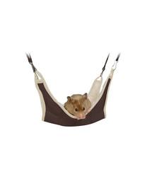 TRIXIE Hängematte Hamster 18 x 18 cm