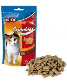 TRIXIE Snack für Katze Crumbies 50 g