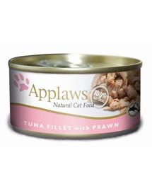 APPLAWS  Thunfischfilet & Garnele 156 g