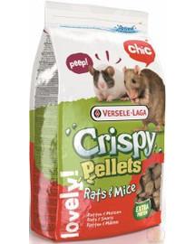VERSELE-LAGA Crispy Pellets Rattenfutter & Mäusefutter 20kg