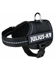 TRIXIE-Geschirr Julius K-9 schwarz XL 82–118 cm