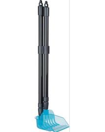 TRIXIE Kehrschaufel mit Harke, 60–107 cm