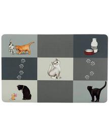 TRIXIE Napfunterlage Patchwork Cat