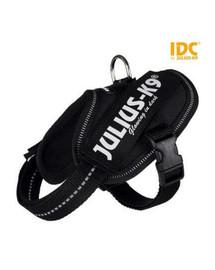 TRIXIE-Geschirr für Hunde Julius-K9 IDC Mini-Mini/S: 40-53 cm/22 mm schwarz
