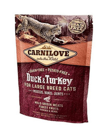 CARNILOVE Cat Large Breed Duck 400g