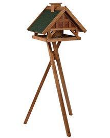 TRIXIE Futterhaus für Vögel 54×40×48 cm/1,45 m