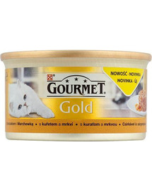 GOURMET Gold Savoury Cake Chicken and Carrot 85 g