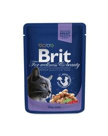 BRIT Premium Cat Adult Cod Fish 100g
