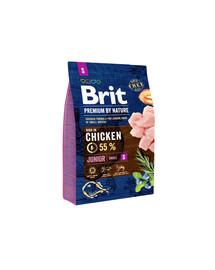BRIT Premium By Nature Junior Small S 3 kg