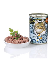 O'CANIS for Cats-Huhn, Lachs & Distelöl 400 g