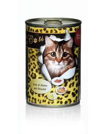 O'CANIS for Cats-Ente & Huhn mit Distelöl 400 g