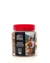 SIMPLY FROM NATURE Baked Cookies with wild boar gebackene Kekse mit Wildschweinfleisch 300g