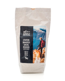 SIMPLY FROM NATURE Oven Baked Dog Food with deer / mit Hirsch 1,2 kg