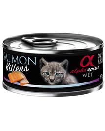 ALPHA SPIRIT Salmon for kitten Lachs Kätzchen 85 g