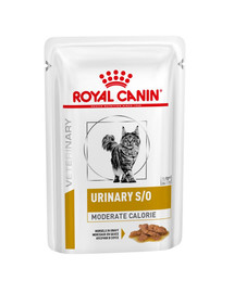 ROYAL CANIN Veterinary Diet Feline Urinary S/O Moderate Calorie 12 x 85 g