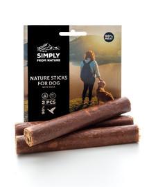 SIMPLY FROM NATURE Nature Sticks with duck natürliche Zigarren mit Entenfleisch 3 Stück