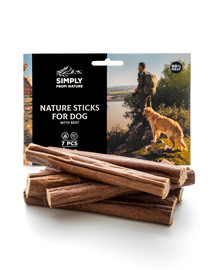 SIMPLY FROM NATURE Nature Sticks with beef Nature Sticks mit Rind 7 St.