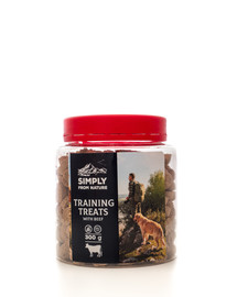 SIMPLY FROM NATURE Training Treats with beef Trainingsleckerli mit Rindfleisch 300g