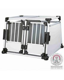 TRIXIE Doppel-Transportbox  95 × 69 × 88 cm