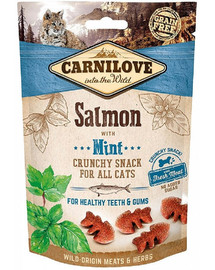 CARNILOVE Crunchy Snack Salmon with Mint 50 g