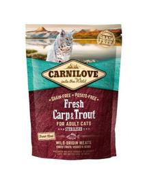 CARNILOVE Katze Fresh – Carp & Trout Sterilised 400 g