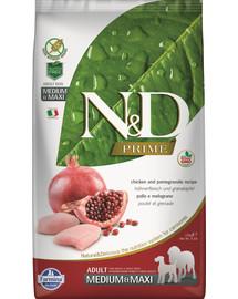 FARMINA N&D Prime Chicken & Pomegranate Adult Medium 2,5 kg