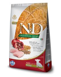 FARMINA N&D Low Grain Chicken & Pomegranate Mini Puppy 7 kg