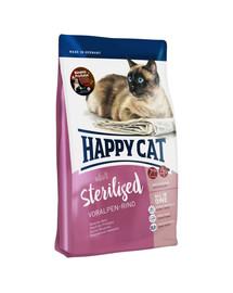 HAPPY CAT Supreme Adult Sterilised Voralpen-Rind 1,4 kg