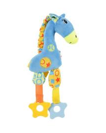 ZOLUX Hundespielzeug Puppy Giraffe blau