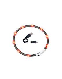 KARLIE Visio Light LED-Leuchthalsband für Hunde 70 cm schwarz