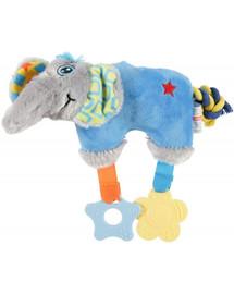 Zolux Plüschspielzeug für Welpen, 27,5 x 8 x 20 cm Elefant