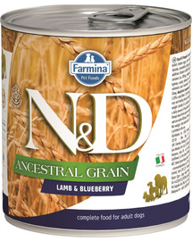 FARMINA N&D Lamm & Heidelbeere Adult Nassfutter 285 g