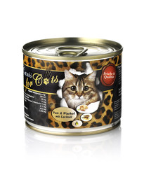 O'CANIS for Cats Pute, Wachtel und Lachsöl 200 g