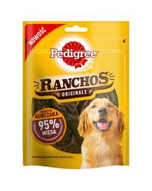 PEDIGREE Ranchos 95% Reich an Huhn 7x70 g