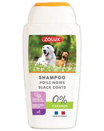 ZOLUX Shampoo für Hunde mit schwarzen Borsten 250ml