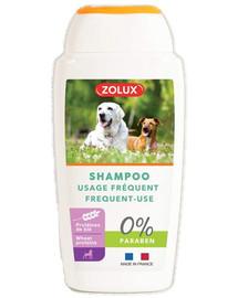 ZOLUX Shampoo für alle Hunde, häufig, ohne Paraben, 250 ml