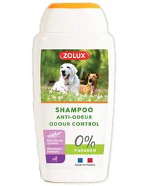 ZOLUX Anti-Geruchs-Shampoo für Hunde, ohne Paraben, 250 ml