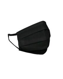 HEXA HEALTH doppelschichtige schwarze Baumwollschutzmaske