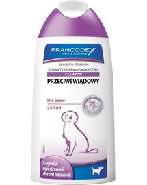 FRANCODEX Shampoo für Hunde Anti-Juckreiz 250 ml