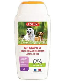 ZOLUX Anti-Itch Shampoo für Hunde, ohne Paraben 250 ml
