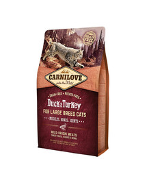 CARNILOVE ADULT LARGE BREED DUCK & TURKEY | Ente & Truthahn 2 kg