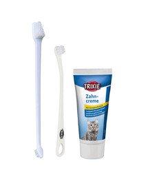 TRIXIE Zahnpflege-Set für Katzen